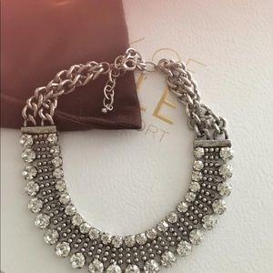 Rachel Zoe Box bling necklace choker